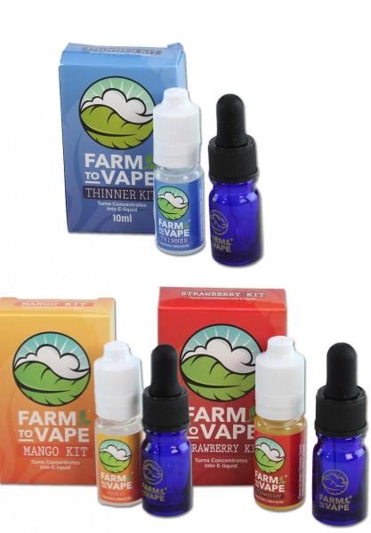 'Farm to Vape' Thinner Kit Strawberry