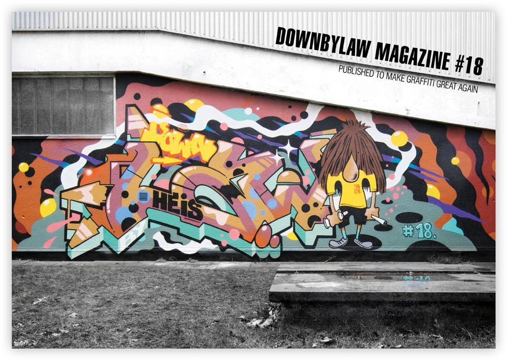 Egowar 15 graffiti magazin