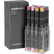 Stylefile Marker 12pcs set multi 20