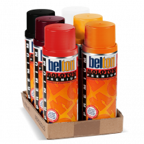 MOLOTOW™ PREMIUM 400ml Red/Orange 6pack