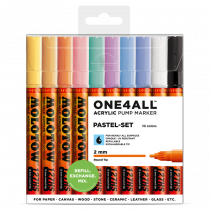 ONE4ALL™ 127HS 2mm 10x - Pastel-Set - Clearbox