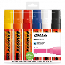 ONE4ALL™ 627HS 15mm 6x - Basic-Set 1 - Clearbox