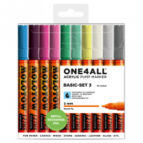 ONE4ALL™ 127HS 2mm 10x - Basic-Set 3 - Clearbox
