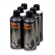 FLAME™ ORANGE - 6 PACK BLACK/WHITE SET