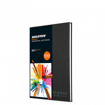 ONE4ALL™ Professional Sketchbook DIN A4 (hoch)
