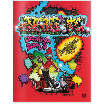 Graffiti Coloring Book 3 – International Styles