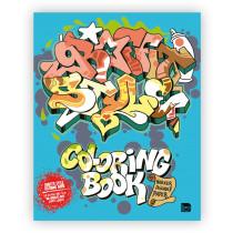 Graffiti Style Urban Media colouring