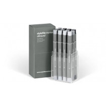 Stylefile Marker Allround 12er Set neutral grey